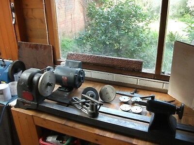 Wood Turning Lathe And Accessories