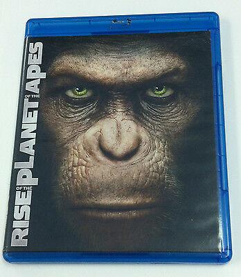 Rise of the Planet of the Apes (Blu-ray/DVD, 2-Disc Set)