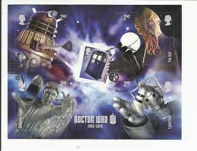 Ms3451 Gb Dr. Who Very Fine Used Mini Sheet