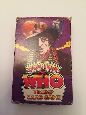 Tom Baker Top Trumps Dictor Who Card Game