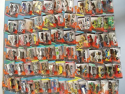 Matchbox    Vehicles    Randomly Selected  New  In Packet As Shown