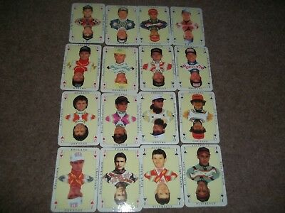 Vintage Playing Cards Speedway Riders X 24 Hancock Hamill Gollob Nielsen Screen
