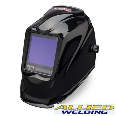 Lincoln Viking Welding Helmet 3350 Black With New 4C Technology *SOLD OVER 250*