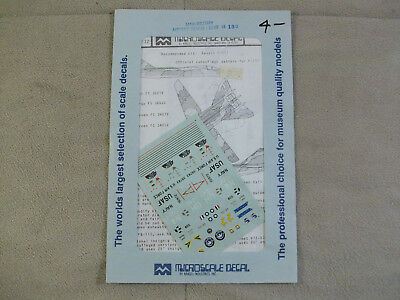 1/144 Decals - General Dynamics F-111 Aardvark - Microscale / Revell