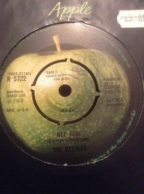 The Beatles  -  Hey Jude  -  1968  U.k.  Apple