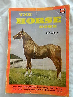 1953 The Horse Book by John Rendel paperback