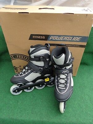 Powerslide PHUZION VISION FITNESS Quality  SKATE  UK Size 8 Eur 42 ,