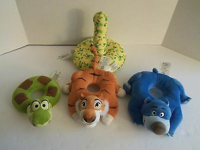 Disney Baby THE JUNGLE BOOK Stacking Ring Toy Baloo Shere Khan & Kaa - HTF
