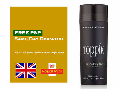 Toppik Hair Building Fibers keratin concealer 27.5g. *Limited time offer!!!*