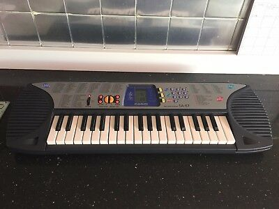 Casio Electronic Keyboard Ctk 731 With Disc Drive Stand