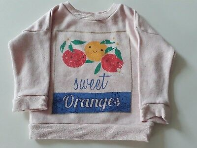 M&S Baby Girl Sweater 6-9 Months