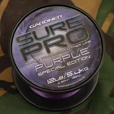 Gardner Sure Pro - Special Edition Purple - Karpfenschnur