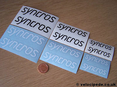 SYNCROS decal kit for STEM (retro stickers)
