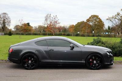 2015 Bentley Continental GT Coupe 4.0V8 Concours Series Petrol grey Automatic