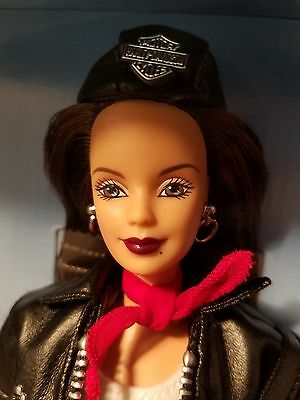 Harley-Davidson Barbie Third in a series Beautiful Brunette 1998 Mint Condition