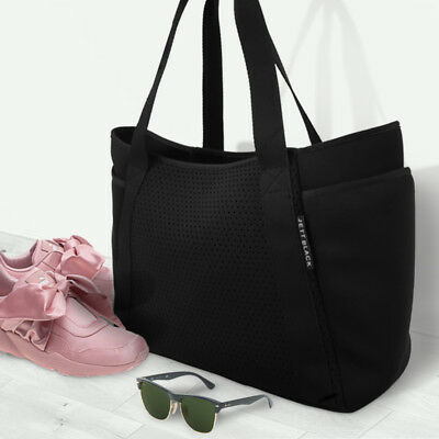 Sport Yoga Training Gym Bag Foldable Travel Carry Tote Bag Weekend Bag
