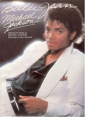 MICHAEL JACKSON-THE LADY In My Life-Piano/vocal/chords Sheet