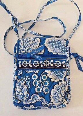 Vera Bradley Crossbody, Blue Lagoon, Gently Used