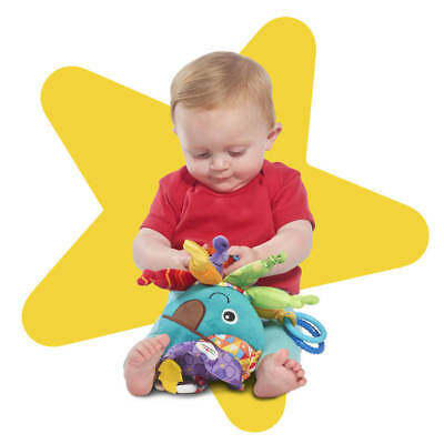 Lamaze Captain Calamari The Octopus Pirate Clip On Pram and Pushchair Baby Toy