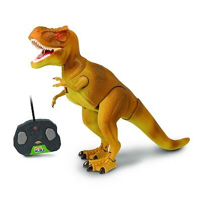"WOW World 3211 ""IR Remote Controlled T-Rex"" Dinosaur Figure Toy Kids"