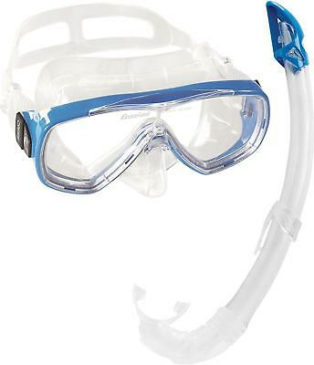 Cressi Onda & Mexico PREMIUM Snorkel Adult Set - Blue, Yellow, Pink,...