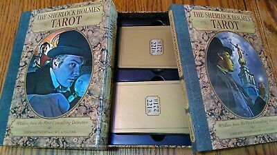 The Sherlock Holmes Tarot  Wisdom from the First Consulting Detective Box Set