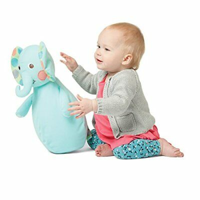 Manhattan Toy Roly-Bop Chime Elephant Wobble Toy