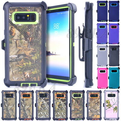 Military High Impact Case Tough Cover, Belt Clip Fit Otterbox For Samsung Phone