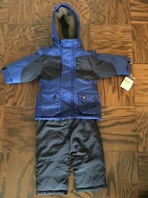 Toddler Boys Osh Kosh Bgosh 2 Piece Snow Suit 12 Months