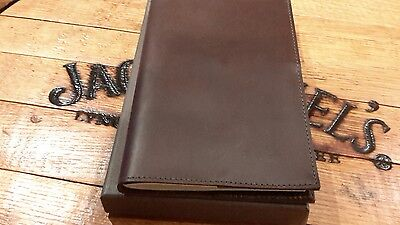 New In Box Filson Made In Usa Small Horween Leather Cover With Notebook