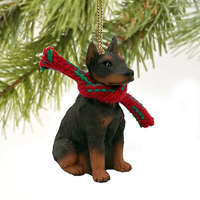 Conversation Concepts Doberman Pinscher Red w/Cropped Ears Original Ornament