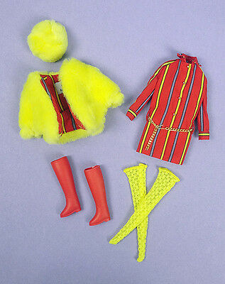 Barbie Smasheroo Vintage MOD Repro Reproduction Stacey PJ Doll Oufit COMPLETE