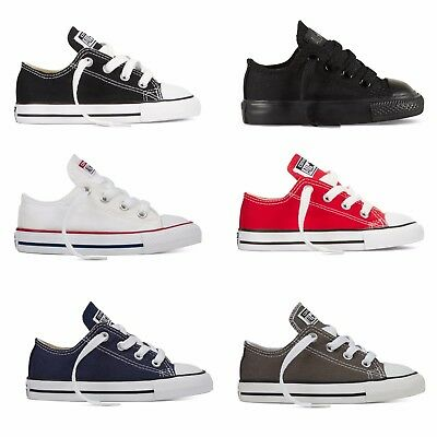 INFANT / TODDLER Converse Chuck Taylor All Star Low Top Canvas Shoes