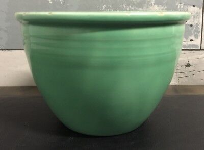 Vintage Fiesta Fiestaware HLC USA #2 Mixing Bowl Green w/ Rings 5 3/4""