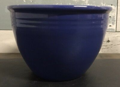 Vintage Fiesta #2 Nested Mixing Bowl Fiestaware Homer Laughlin Blue 5 3/4""