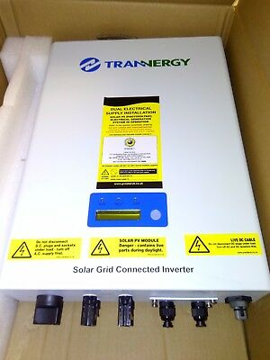 Trannergy PVI4000TL 3.65kw 1ph solar panel  Inverter with grid connection