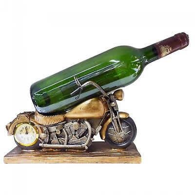 New Polyresin Motorbike Wine Bottle Holder 25 x 16 x 11cm