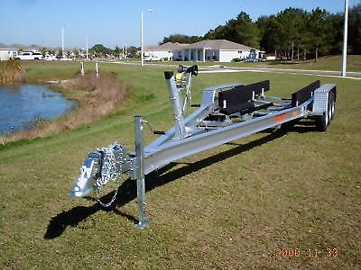 New Ace 2018 Aluminum Boat Trailer 26-28' 10,500 Gvwr