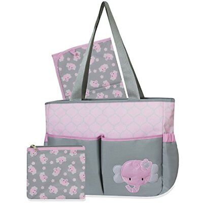 Tender Kisses Elephant 3 in 1 Diaper Bag