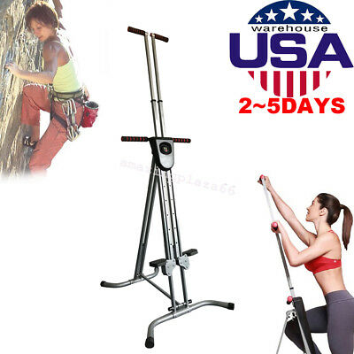 Vertical Climber Machine Exercise Stepper Cardio Workout Fitness Training UPS