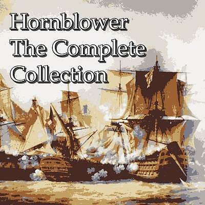 Hornblower The Complete Collection 11 Books - on MP3 DVD Over 85 HOURS