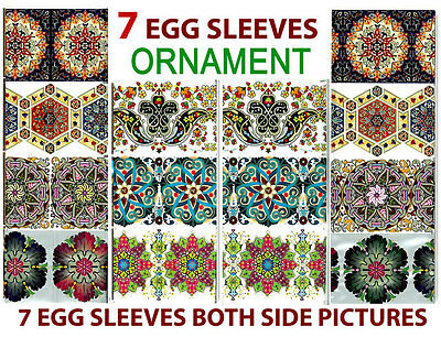#13 Ornament Easter Egg Sleeves Pysanka Pysanky Nowruz Wraps Magic Decoration