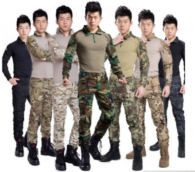 New Airsoft Tactical Gen3 G3 Combat Suit Shirt Special Forces BDU Uniform