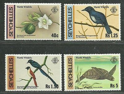 Seychelles 1978 Very Fine MNH Stamps Scott # 417-420 CV 6.25 $