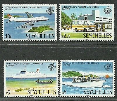 Seychelles 1980 Very Fine MNH Stamps Scott # 456-459 CV 1.90 $