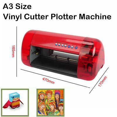 A3 Sign Vinyl Cutter Plotter Machine With Contour Cut Function Card