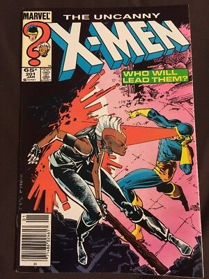 Uncanny X-Men #201 Very Nice 1St Cable Baby Nathan Summers Chu Black Friday