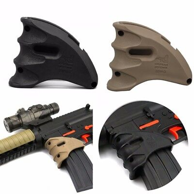 FAB Angled Textured Grip Forgrip Ergonomic Hand Grip Foregrip Light 2 colors