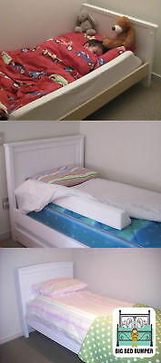 Toddler Bed Rail/Guard -Big Bed Bumper FREE POST TO AUSTRALIA