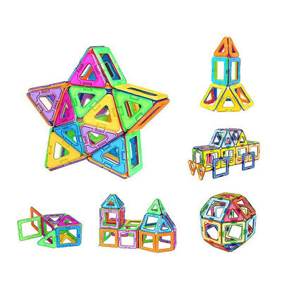 3D Magnetic Construction Building Bricks Blocks Educational Kids Toy Gift 1PC